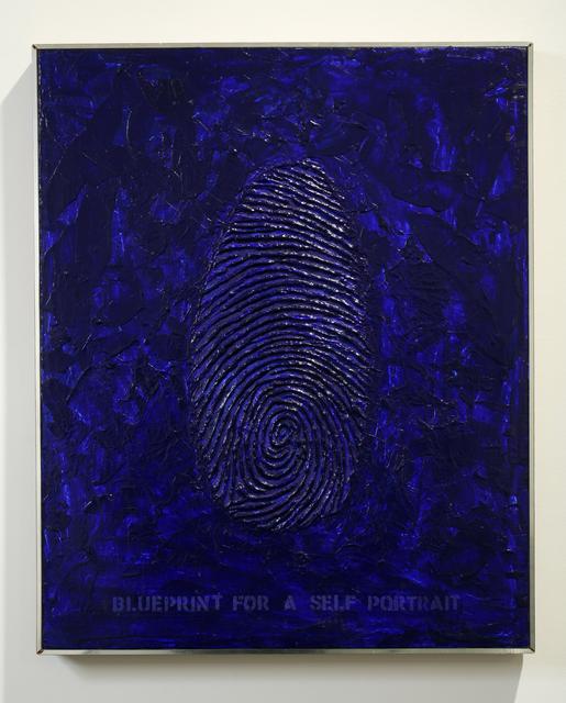 Robert Arneson, 'Blueprint for a Self Portrait', 1968-1969, Brian Gross Fine Art