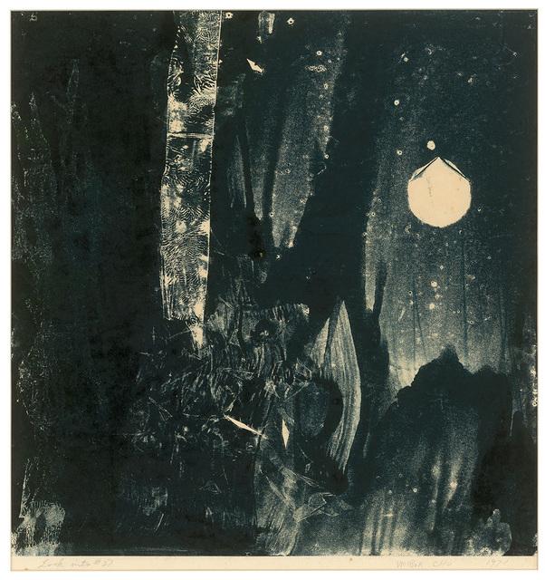 Chu Weibor, 'Galaxy 銀河外', 1971, Painting, Oil, Plastic, Glass plate, Asia Art Center