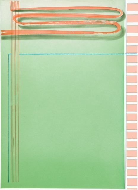 , 'Untitled (Brushstroke),' 2009, Crown Point Press