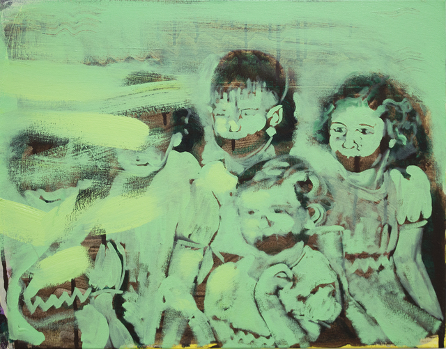 Bartosz Beda, 'Children of The Megaphone, oil on canvas, 42x58cm, 2018 (300dpi)', 2018, Execute Project
