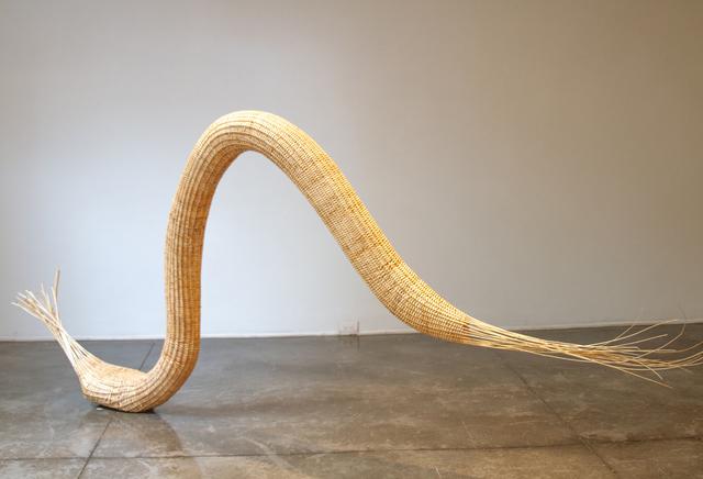 "Daniel Nyström, 'Birth ', 2019, Sculpture, ""Ratan"" Fiber and stone, Galería La Cometa"