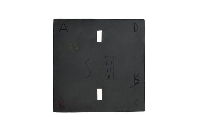 , 'Abaca Code K.S. 75-2-VI,' 1975, Galerie Hans Mayer