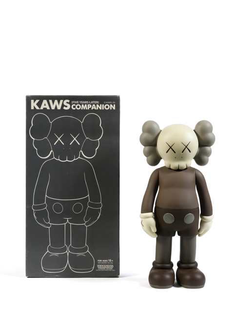 KAWS, 'Five Years Later Companion (Marron)', 2004, Sculpture, Painted cast vinyl, DIGARD AUCTION