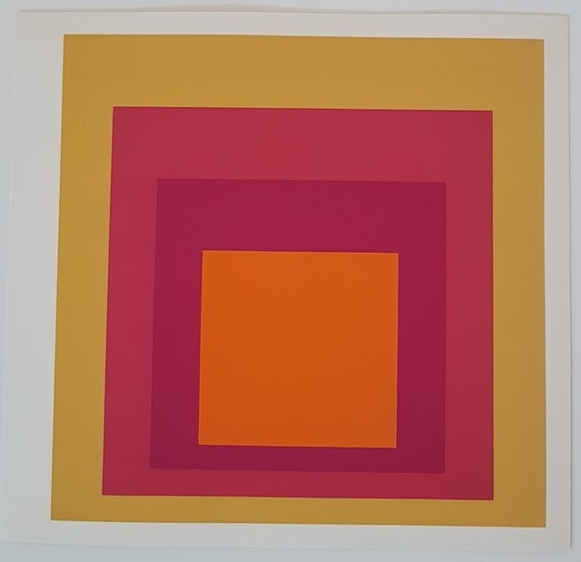 Josef Albers, 'Geometric Composition (Homage to the Square Series)', 1977, Print, Color silkscreen, Cerbera Gallery