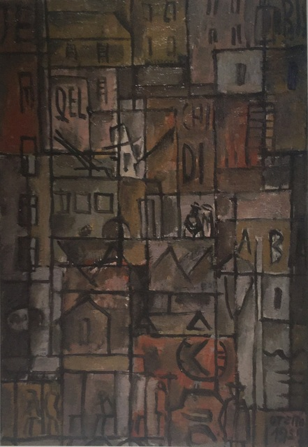 , 'Estructura con elementos de ciudad ,' 1959, Galería de las Misiones