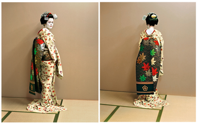 Jacqueline Hassink, 'The maiko as an artist, the artist as a maiko. Kyoto, Japan Self-portraits 11 June 2004', 2004, Benrubi Gallery