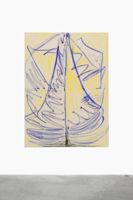 , 'Sailingboat,' 2015, Almine Rech Gallery