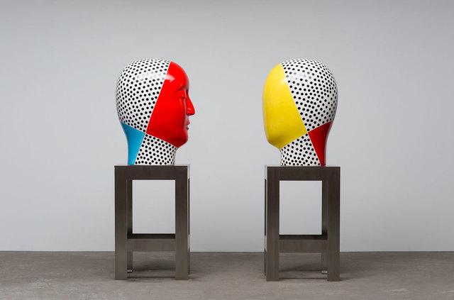 , 'Untitled, Raku Heads (16-05-05),' 2016, Rena Bransten Gallery
