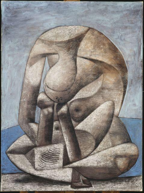 , 'Grande Baigneuse au livre (Large bather with a book),' 1937, Musée Picasso Paris