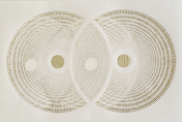 Tahiti Pehrson, 'Pareidolia', 2015, Drawing, Collage or other Work on Paper, 100% Hand Cut Cotton Rag, Joseph Gross Gallery