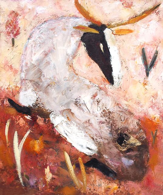, 'Gray Stag in Russet Field,' 2012, Carter Burden Gallery