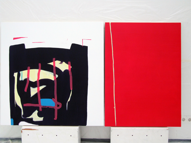 , 'Untitled Diptych,' 2014, Galerie Kornfeld