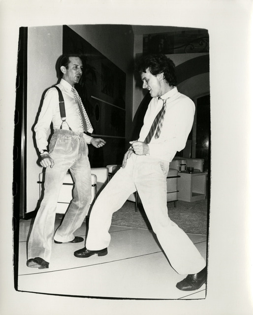 Andy Warhol, 'Fred Hughes Dancing with Unidentified Man', 1986, Hedges Projects