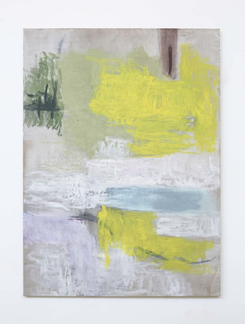 Monique Frydman, 'Sans Titre', 1990, Painting, Huile sur toile de lin / Oil on linen canvas, Galerie Dutko