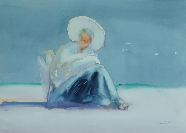 , 'Beach Scene V,' 1980-1990, Galerie Bettina