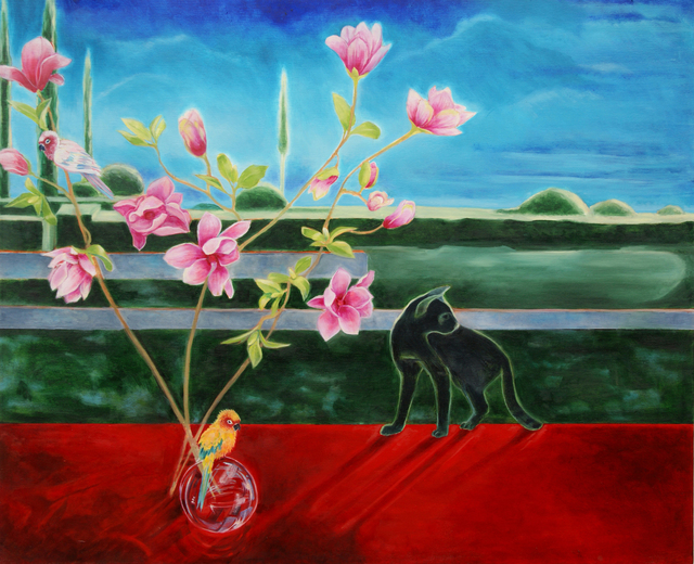 Katherine Pappas-Parks, 'Flying Through Moments, Feeling the Earth Turn', Walter Wickiser Gallery