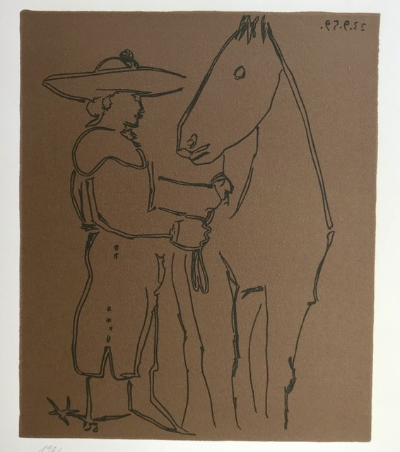 Pablo Picasso, 'Picador and Horse', 1988, ByNewArt