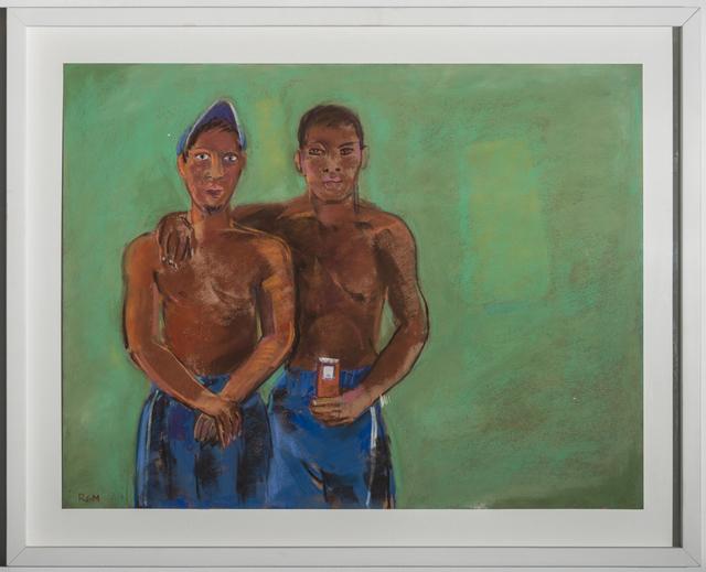 , 'Facebook Photo (men),' 2013, Lora Schlesinger Gallery