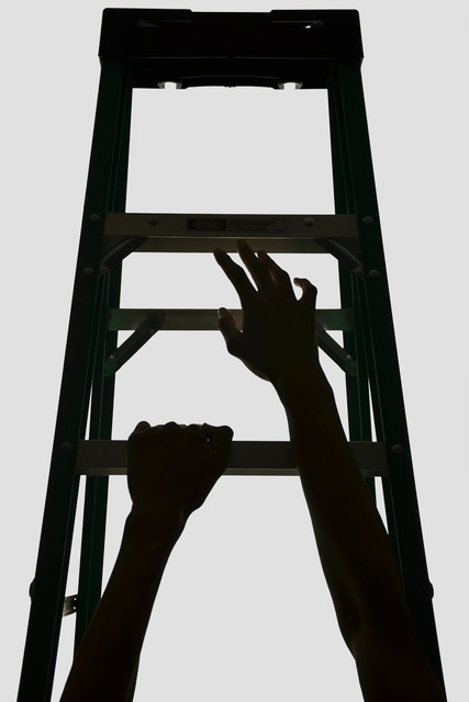 , 'Faustian Ladders (#1),' 2013, CONNERSMITH.