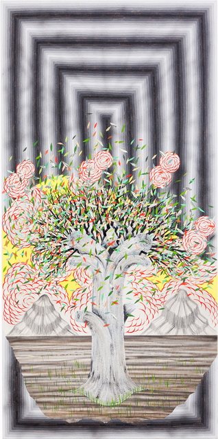 , 'Breaking Clouds, Broken Pattern (Tree),' 2016, Fabien Castanier Gallery
