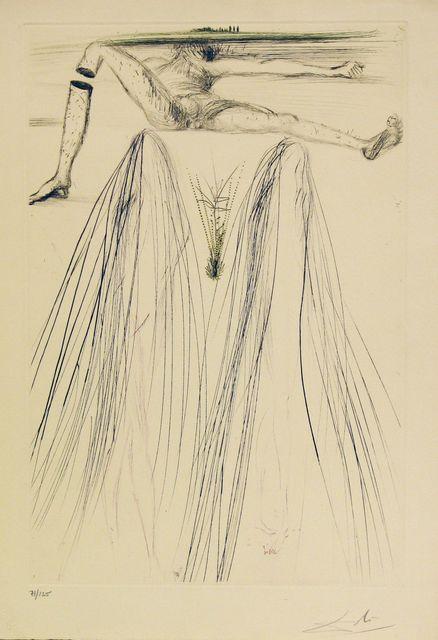 Salvador Dalí, 'Tristan Et Iseult - The Giant Beliagog', 1970, Gregg Shienbaum Fine Art