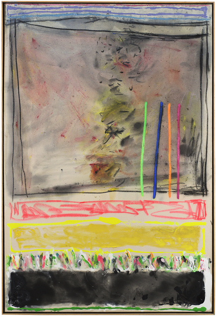 , 'Country Fields with a Pink and Yellow,' 2012, Berry Campbell Gallery