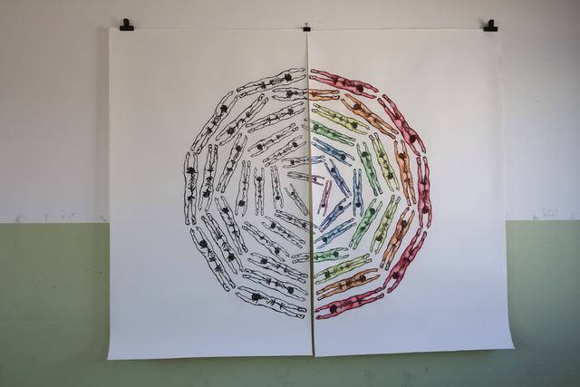 , 'Constellations and Sediments III: Flight,' , Zuecca Project Space