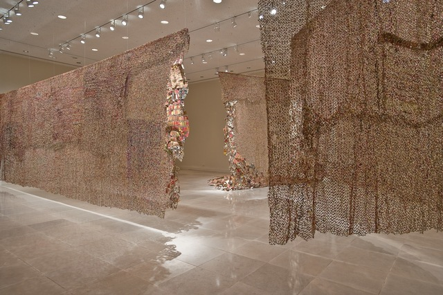 , 'Gli (Wall),' 2010, Rice University Art Gallery