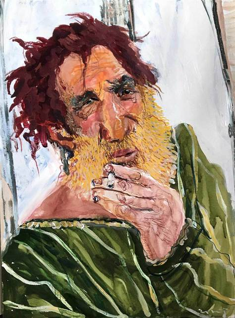 , 'King Lear,' , Mall Galleries