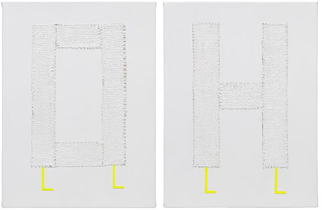 , 'OH walker diptych,' 2018, Craig Krull Gallery