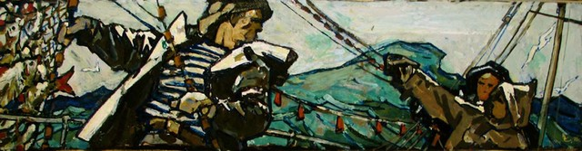 , 'Fishermen on the Sea,' 1970, Paul Scott Gallery & galleryrussia.com