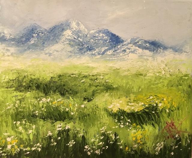 , 'Calm Meadows ,' 2018, Lotus Art Gallery