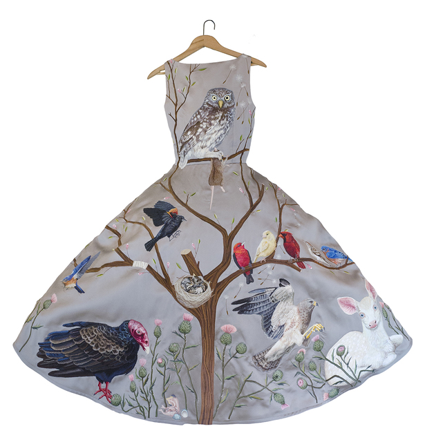 , 'Birds of Prey Dress - Grey,' 2016, Antieau Gallery