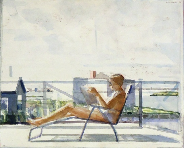 , 'Woman in a Deck Chair,' 1970, Cerulean Arts