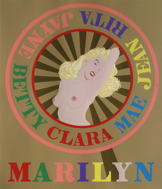 Robert Indiana, 'Marilyn', 2001, Roseberys