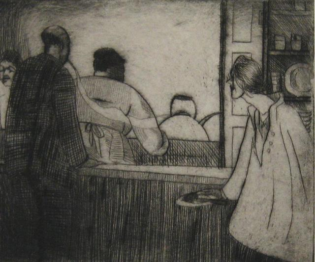 , 'Carrie (Lunch Counter),' 1918, Paramour Fine Arts