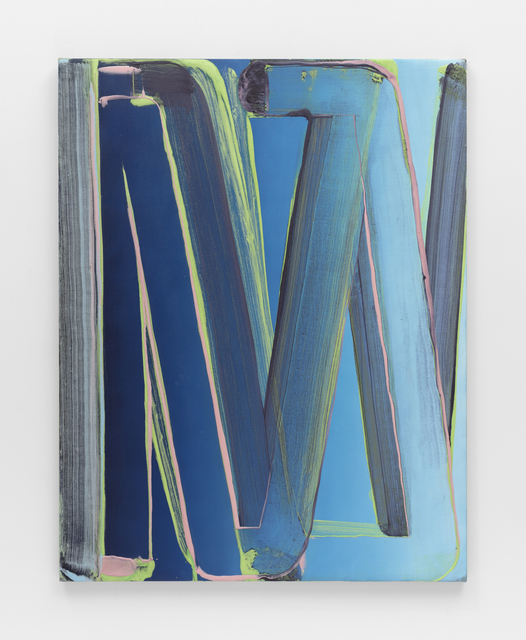 Robert Janitz, 'The Librarian', 2020, Painting, Oil, wax, flour on canvas, KÖNIG GALERIE