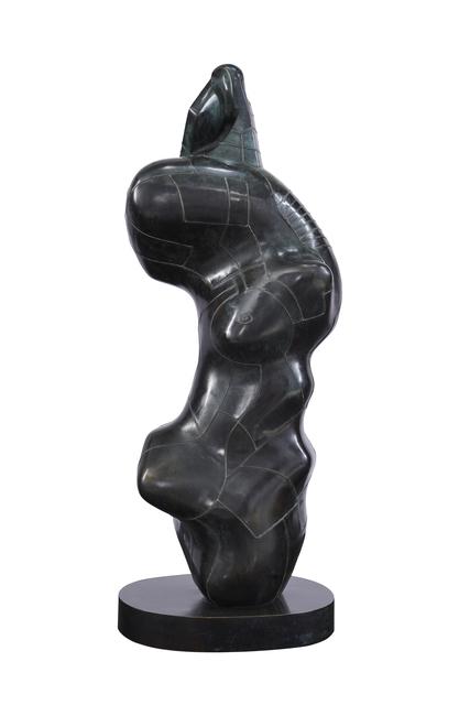 , 'Three Quarter Figure - Lines,' 1980, Galeria Freites