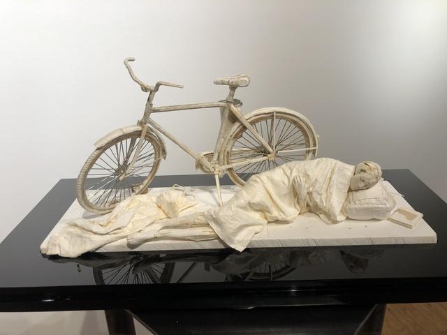 Ivan Markovic, 'Nightfall', 2020, Sculpture, Paper, wire glue, Gallery Victor Armendariz