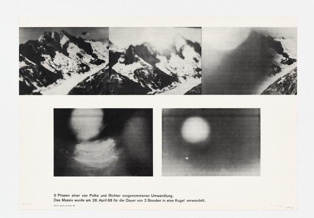 , 'Umwandlung (Gemeinschaftsarbeit von Sigmar Polke und Gerhard Richter),' 1968, Sies + Höke