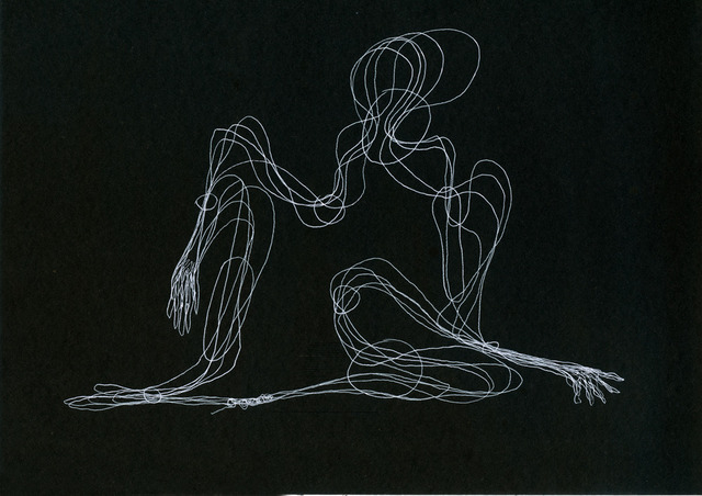 , 'distancia recoberta_ensaio_partitura_dr_corte_G [E],' 2014, Mul.ti.plo Espaço Arte