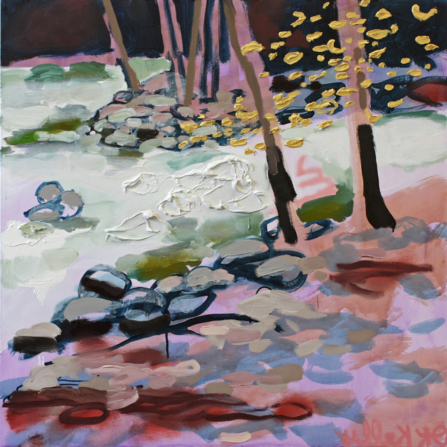 , 'Happy Isles 2 (Gold in the Trees),' 2014, G. Gibson Gallery