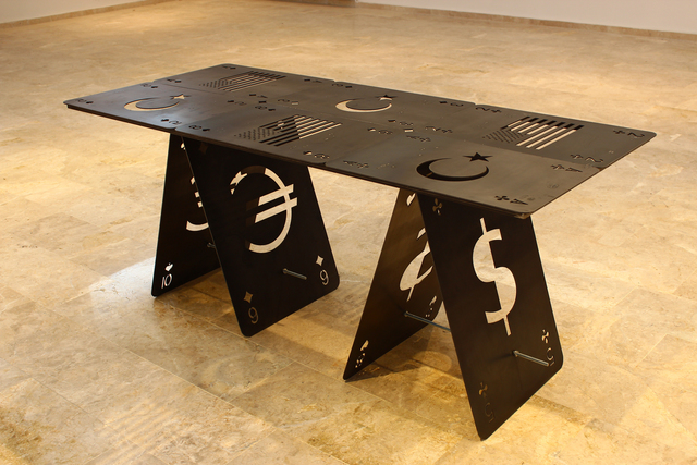 ", '""Masa da masaymış ha!"" // ""Table"",' 2015, KUAD GALLERY"
