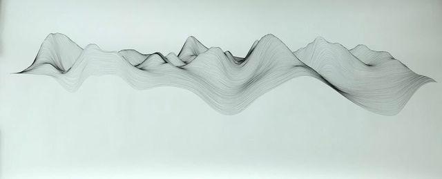 , 'Linescape 14,' 2017, Artemisa Gallery