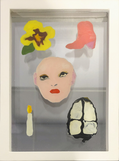 , 'Boot, Candle, Face ,' 2019, 99 Loop Gallery