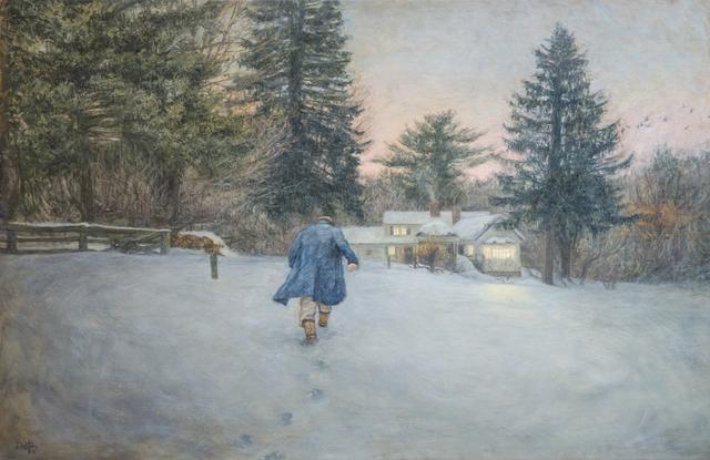 Dustin Neece, 'Man in the Snow Covered Field', ca. 2000, David Benrimon Fine Art