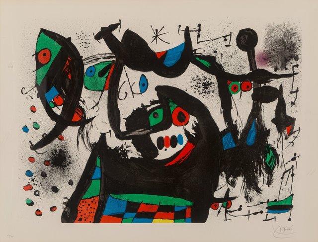 Joan Miró, 'Hommage à Joan Prats', 1971, Heritage Auctions