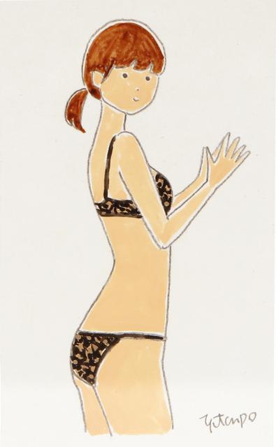, 'Mini Drawing - Black Lace,' 2019, Aki Gallery