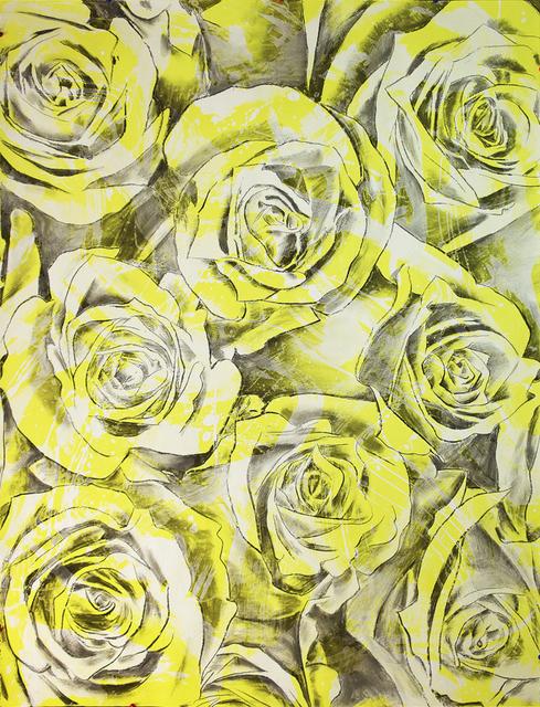 , 'Everlasting Bloom (Titanium Yellow),' 2017, Brintz Gallery