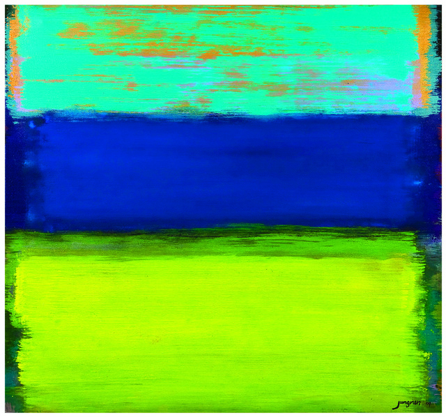 , 'Colors Play Sweeping #85,' 2009, Pyo Gallery